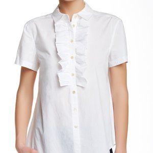 Marc by Marc Jacobs Ruffled Cotton Shirt- Sz. XS